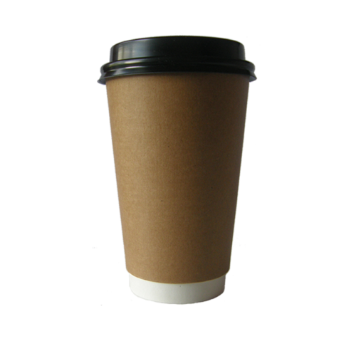 double wall cup large with lid