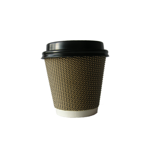 triple wall cup small with lid – new