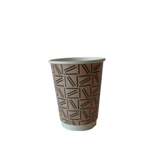 abstract design medium coffee cup