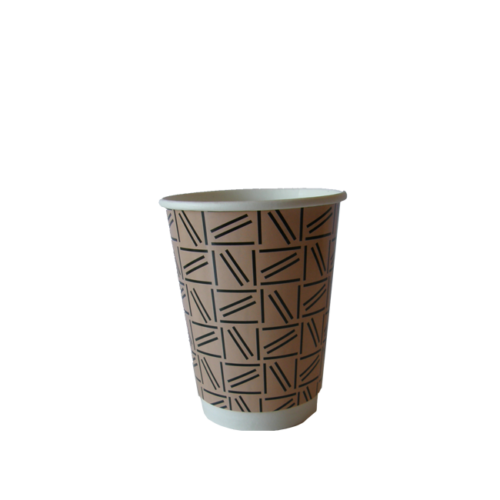abstract design medium coffee cup